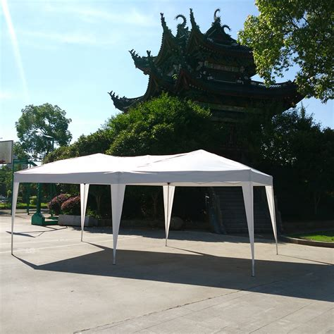 foldable gazebo 10 x 20 easy pop up wedding tent foldable gazebo