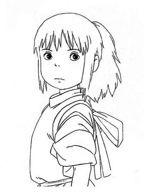 imagenes para pintar anime pintando y coloreando dibujos manga