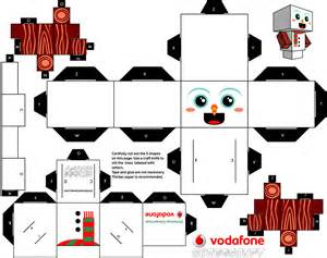 christmas clones cubeecraft paper toy fr
