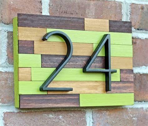 Nomor Penanda Rumah inspirasi desain unik nomor rumah rumah dan gaya hidup rumah