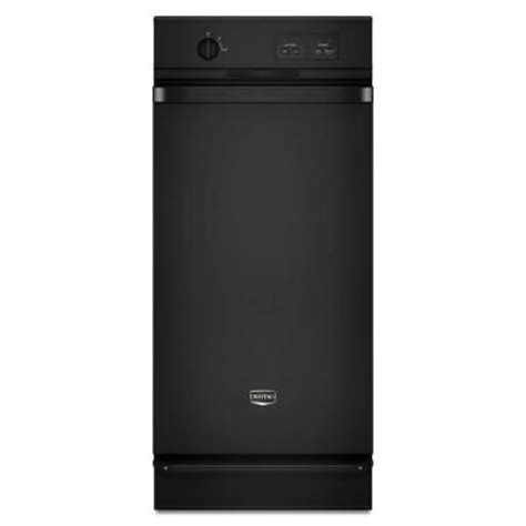 kitchenaid 15 in built in trash compactor in black maytag 15 in built in trash compactor in black
