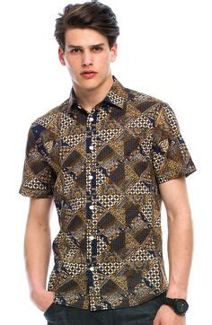 Promo Kemeja Print Fashion Batik Tribal Kombinasi Polos Cowok Pria 1000 images about batik on shirts shirts and unique clothing