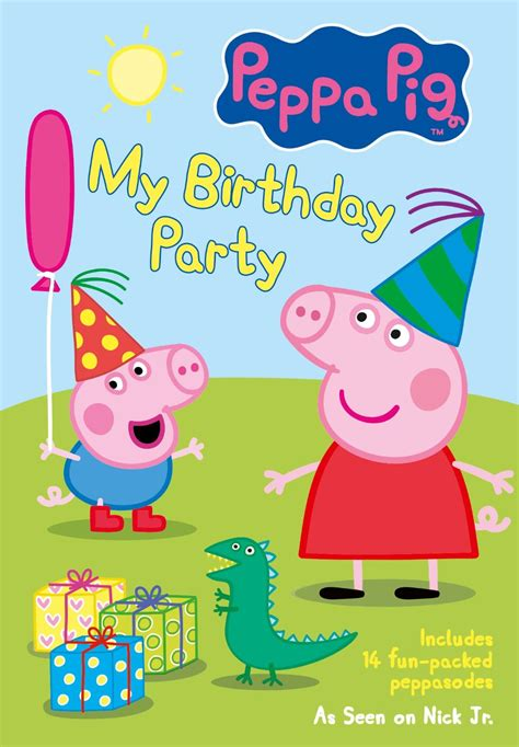 puppy pig peppa pig my birthday save more spend less