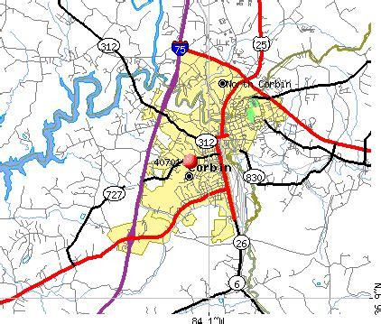 kentucky map corbin 40701 zip code corbin kentucky profile homes