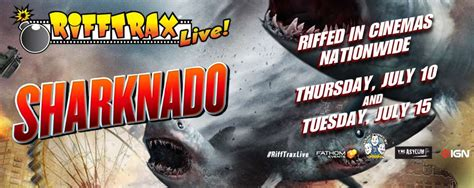 ghost storm rages on syfy tars tarkas net movie sharknado will be the latest rifftrax live tars tarkas