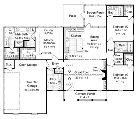 1800 Sq Ft Ranch House Plans House Plans 1800 Square