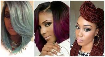 2016 hairstyles for black and african american women youtube
