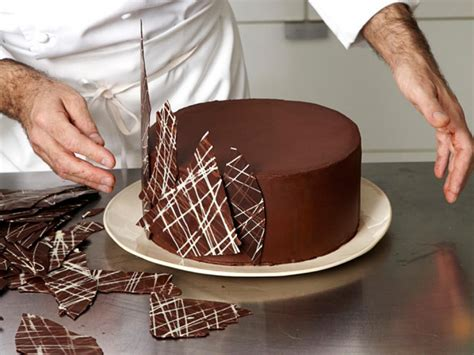 how to make chocolate decorations at home try this at home how to make a four layer cake recipes