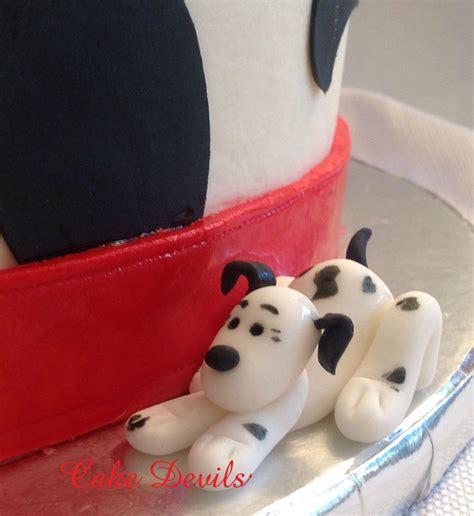 Handmade Edible Cake Toppers - handmade dalmatians cake topper kit cake