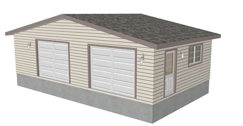 g433 30 x 30 detached garage with bonus truss sds plans rv garage plans sds plans g433 30 x 30 12 detached