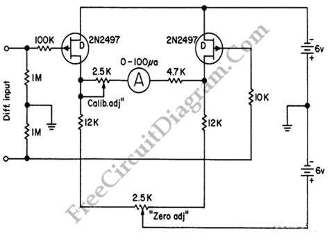 schematic diagram of voltmeter circuit diagrams ammeters and voltmeters with voltmeter
