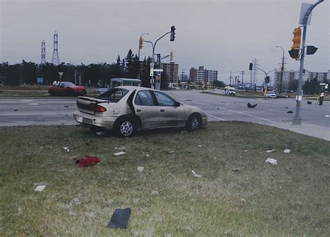 anatomy of a car crash in the span of 11 minutes the distracted driver sent and received
