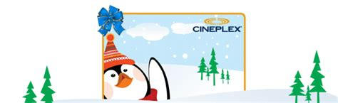 Cineplex Online Gift Card - cineplex holiday gift card offers hot canada deals hot canada deals