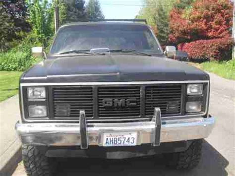 gmc jimmy 1988 find used 1988 gmc jimmy base sport utility 2 door 5 7l in