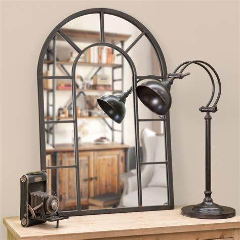 Miroir En Metal by Miroir En M 233 Tal Effet Rouille H 90 Cm Cheverny Maisons