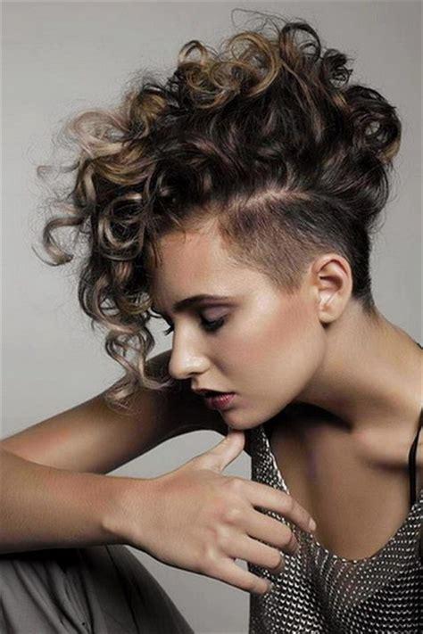 feminine mohawks haircuts mohawk hairstyles for women yve style com