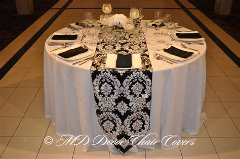 black white table runner black and white table runner party city pictures to pin on
