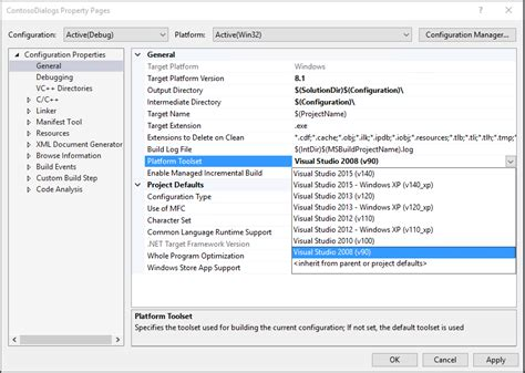 visual studio reset window settings stuck on an older toolset version move to visual 为程序员服务