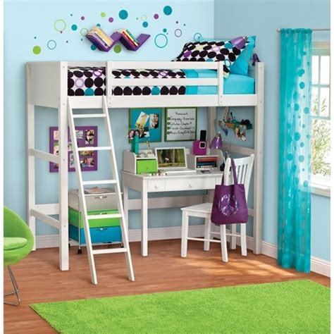Your Zone Loft Bed by Your Zone Zzz Collection Loft Bed Colors