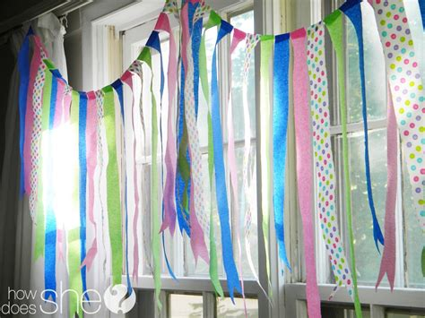 How To Make Crepe Paper Streamers - a new twist on crepe paper streamers