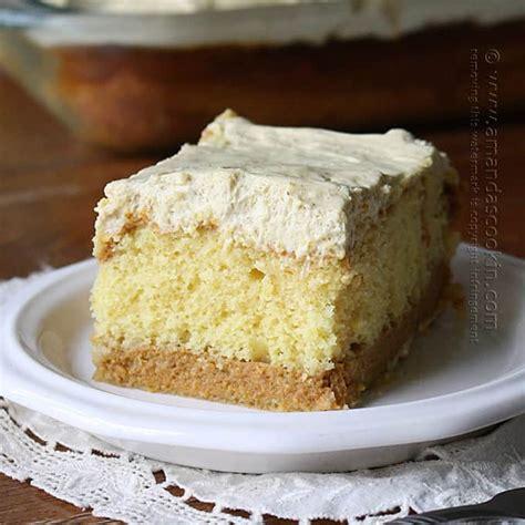 pumpkin cake with cake mix pumpkin magic cake doctored cake mix amanda s cookin