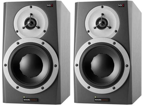 Mixer Audio Bma dynaudio bma5 mk11 studio monitors politusic