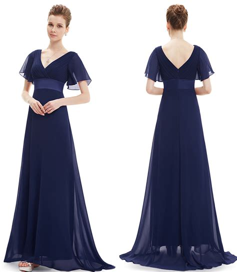 Draped Open Back Dress Midnight Blue Bridesmaid Dress Dress Yp