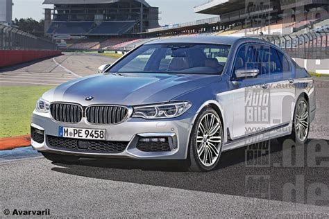 2016 bmw 5 series rendered again debuts at 2016