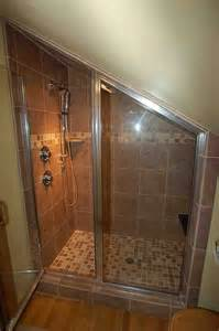 shower ideas for bathrooms attic shower bathroom boise by keilty remodeling inc