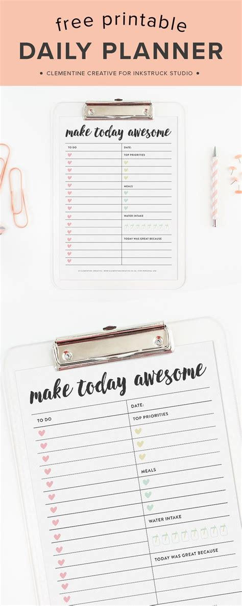 a5 printable organization set daily planner to do list 17 best ideas about daily planners on pinterest daily