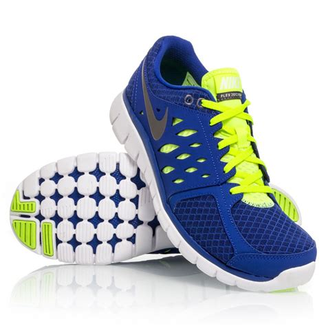 nike flex shoes nike flex 2013 rn mens running shoes blue yellow white