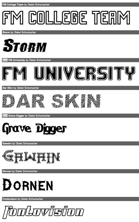 dafont university dafont university font