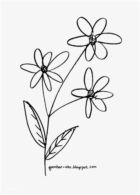 Koleksi Gambar Sketsa Bunga Yang Mudah Di Gambar | Aliransket