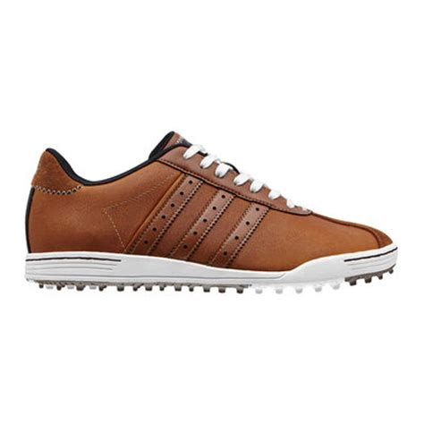 adidas adicross classic golf shoes brown white discount