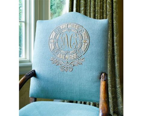 Monogrammed Chairs by The Enchanted Home Monogrammed Chair Letters Monograms