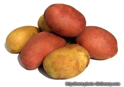 Potatoes Meaning by Potatoes Photo Picture Definition At Photo Dictionary