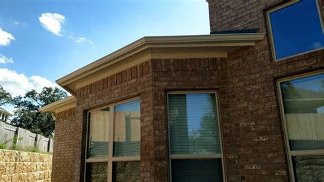 lone seamless gutters residential gutters lone custom gutter exterior