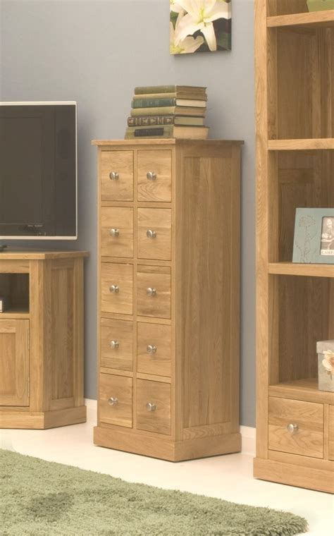 Dvd Chest Of Drawers by Conran Solid Oak Furniture Cd Dvd Storage