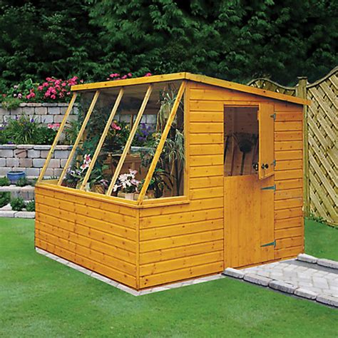 Wickes Garden Sheds by Wickes Potting Shed Stable Door 8x6 Wickes Co Uk