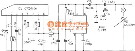 fan light remote control circuit infrared remote control delay light switch circuit diagram