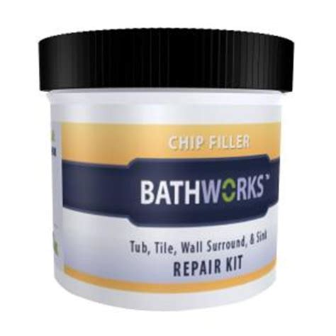 bathtub hole repair kit bathworks 3 oz diy bathtub and tile chip repair kit cr 20