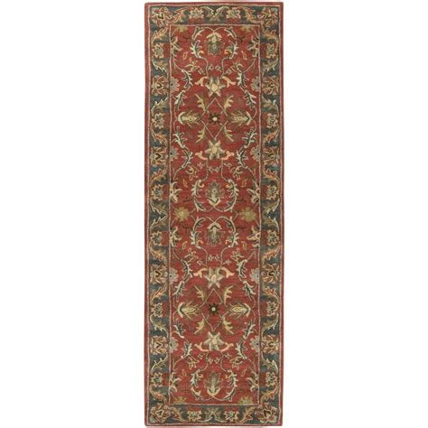 burgundy rug runner artistic weavers chenni burgundy 3 ft x 12 ft indoor rug runner s00151006194 the home depot
