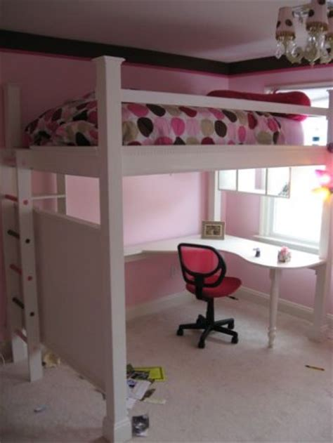 detail free diy loft bed plans uniq plan