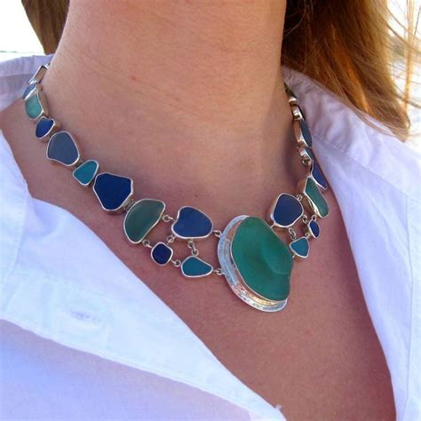 sea glass jewelry how to make best 25 sea glass jewelry ideas on glass