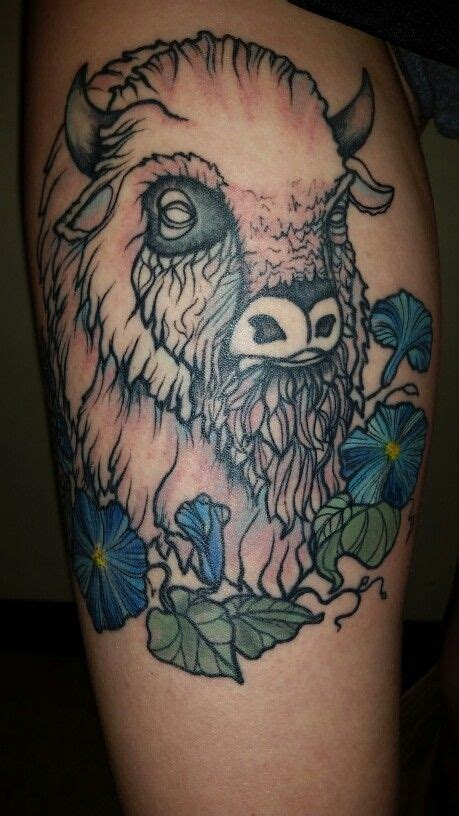 white buffalo tattoo 17 best ideas about buffalo on bison