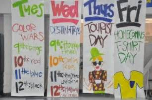 color wars ideas high school spirit homecoming signs homecoming spirit