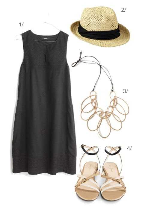 Simple Summer Shift Dress