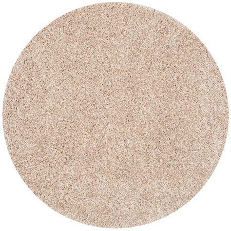 teppich rund beige safavieh florida shag beige 4 ft x 4 ft area