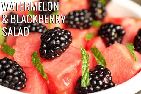 Blackbarry Jump Fruit watermelon blackberry salad recipe fruit salad recipes