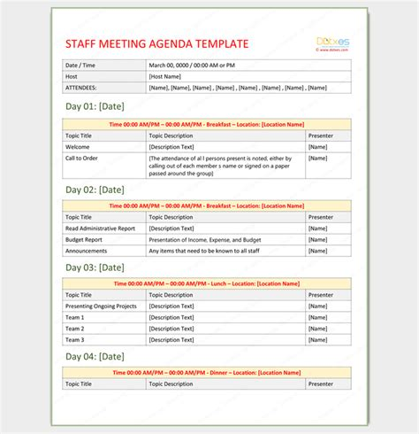 event outline template meeting outline template 13 formats exles and sles